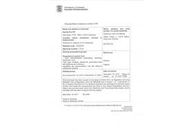 Estvita Pro Organic certificate
