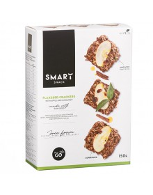 Smart Flaxes with apple and cinnamon