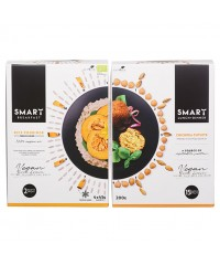 Smart food lunch + dinner CHICKPEA CUTLETS