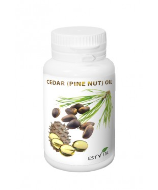 Cedar (Pine nut) oil capsules 230 mg