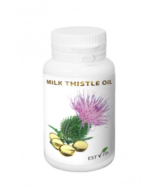 Milk thistle oil capsules 300mg