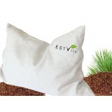 Pine nut  pillow 60x40 cm with linen cloth