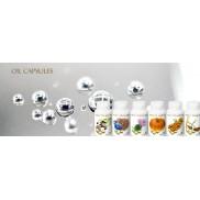 Cold pressed oil capsules